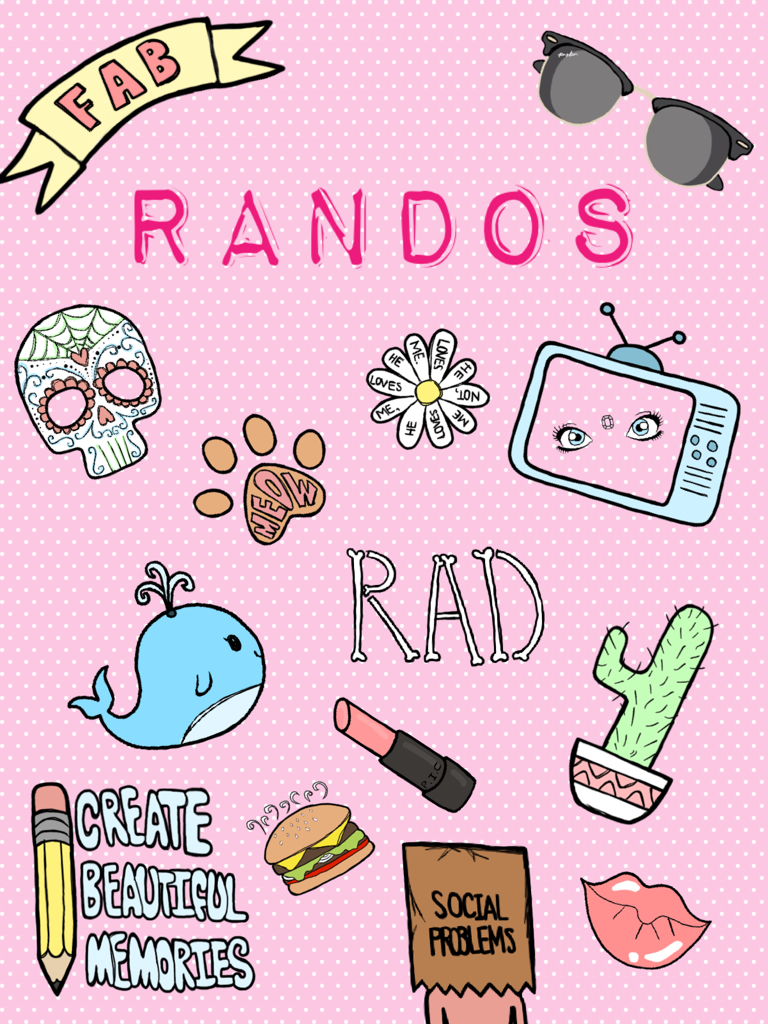 randos sticker pack piccollage. Black Bedroom Furniture Sets. Home Design Ideas