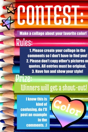 Contest Time! What's your Favorite Color?
