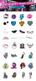 monster-high sticker sheet
