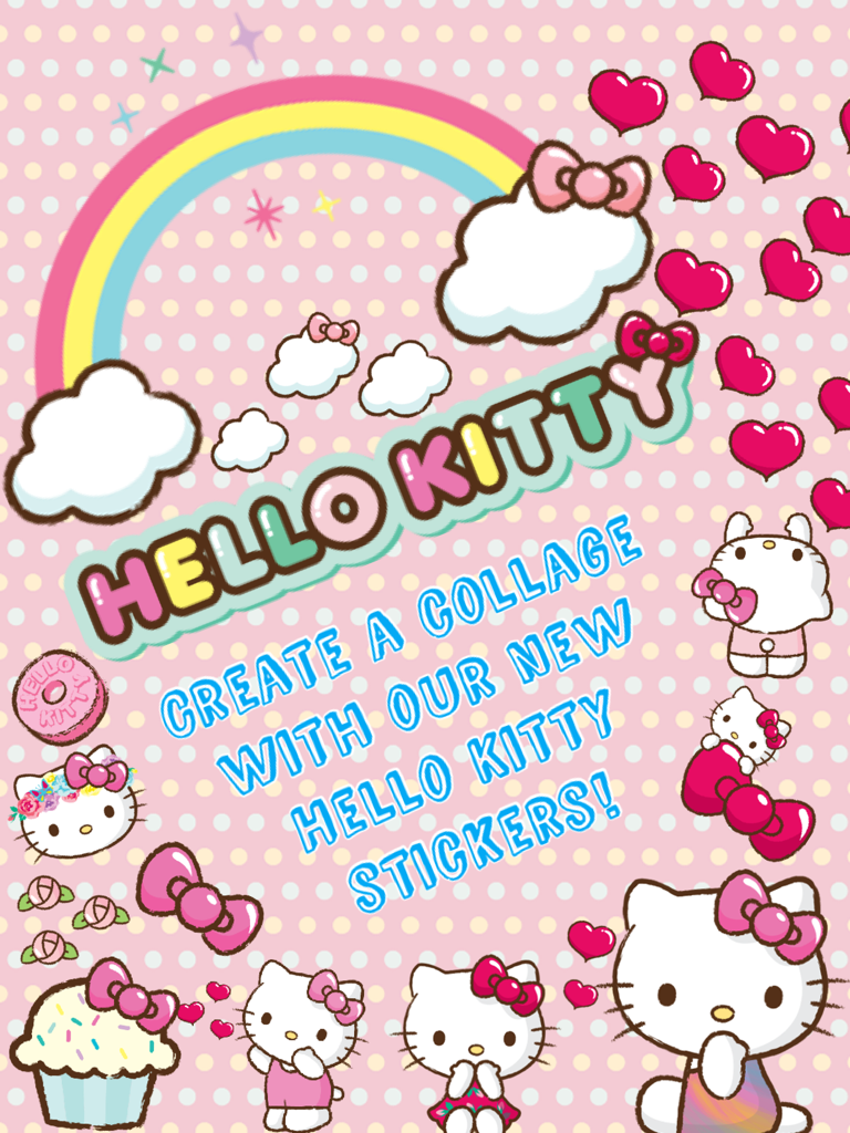NEW Hello Kitty stickers  PicCollage