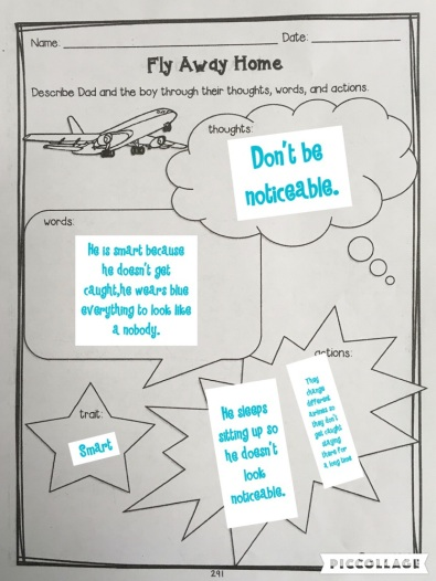 Character Trait Worksheet_PicCollage