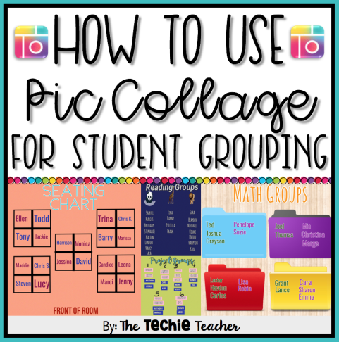 How to Use PicCollage for Student Grouping